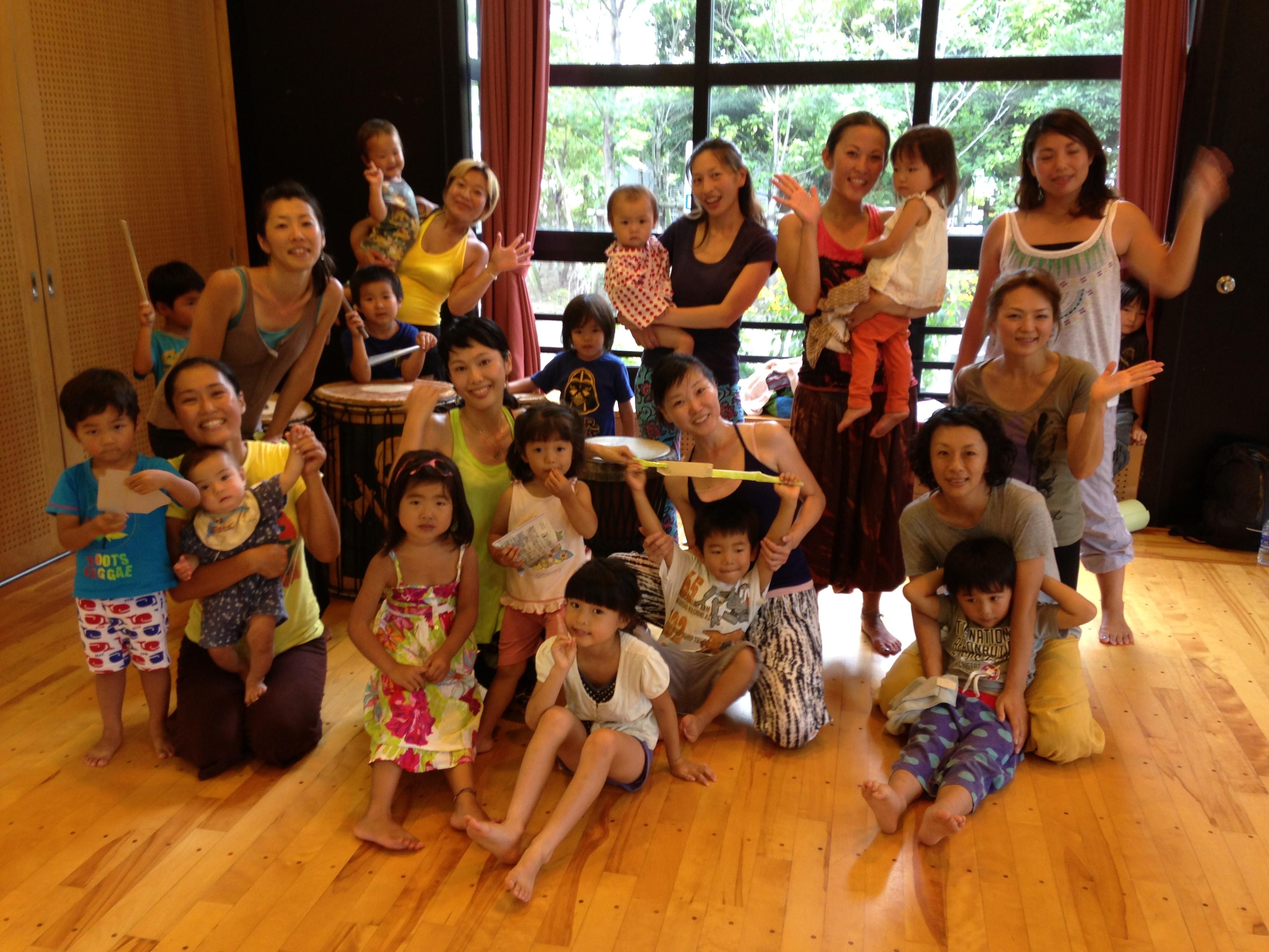 ダンスクラス 湘南 熱中!ジェンベ教室