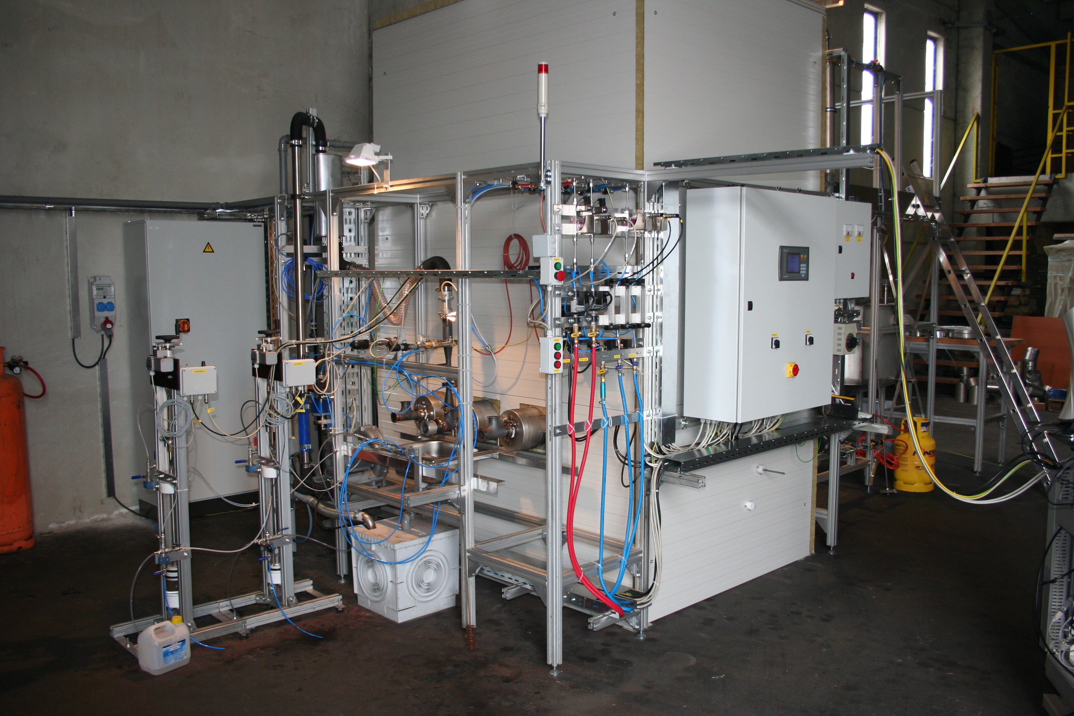 pulse combustion reactor