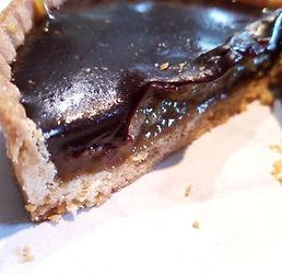 Chocolate & Banana tartlet