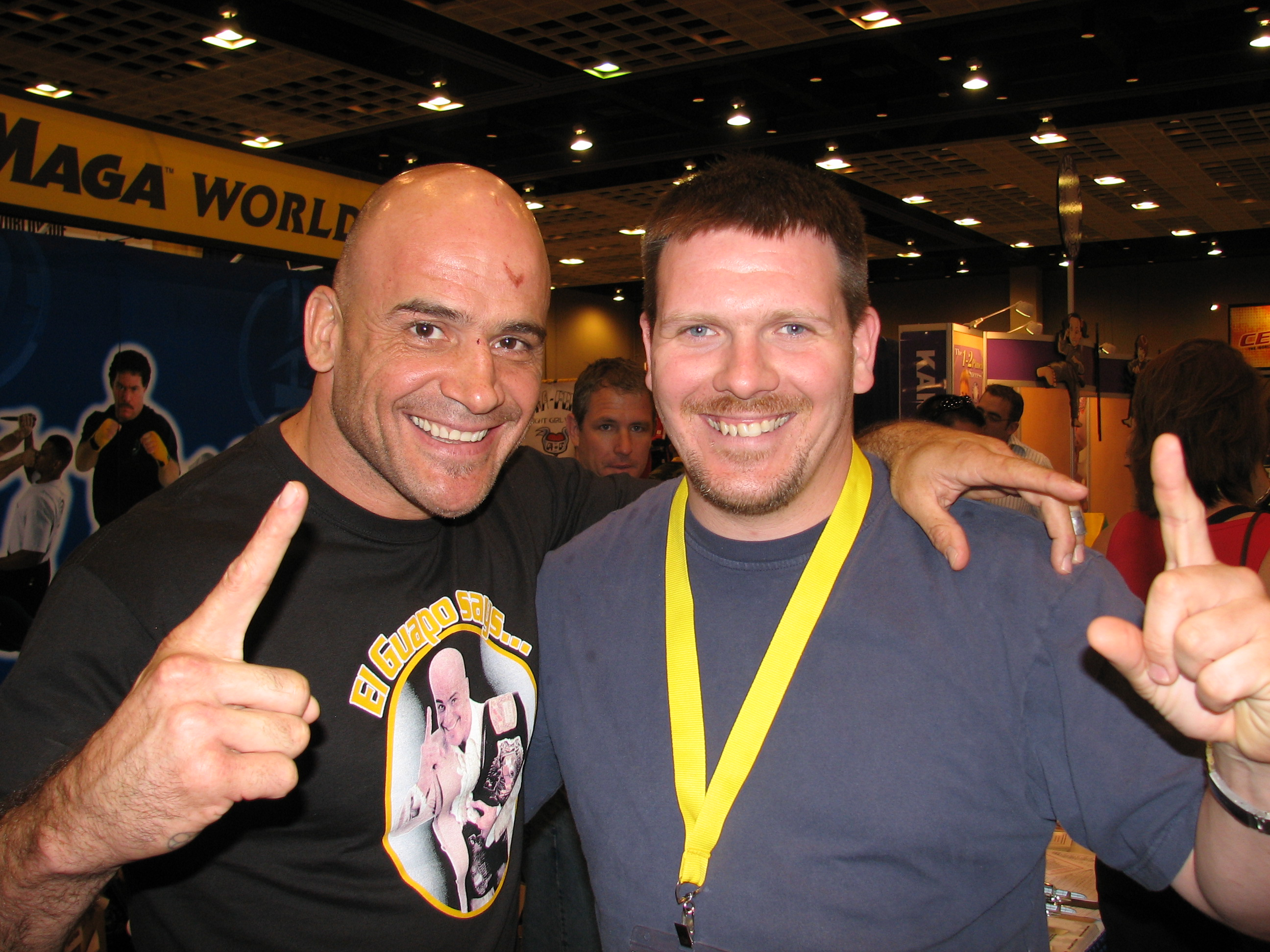 Rob and Bas Rutten