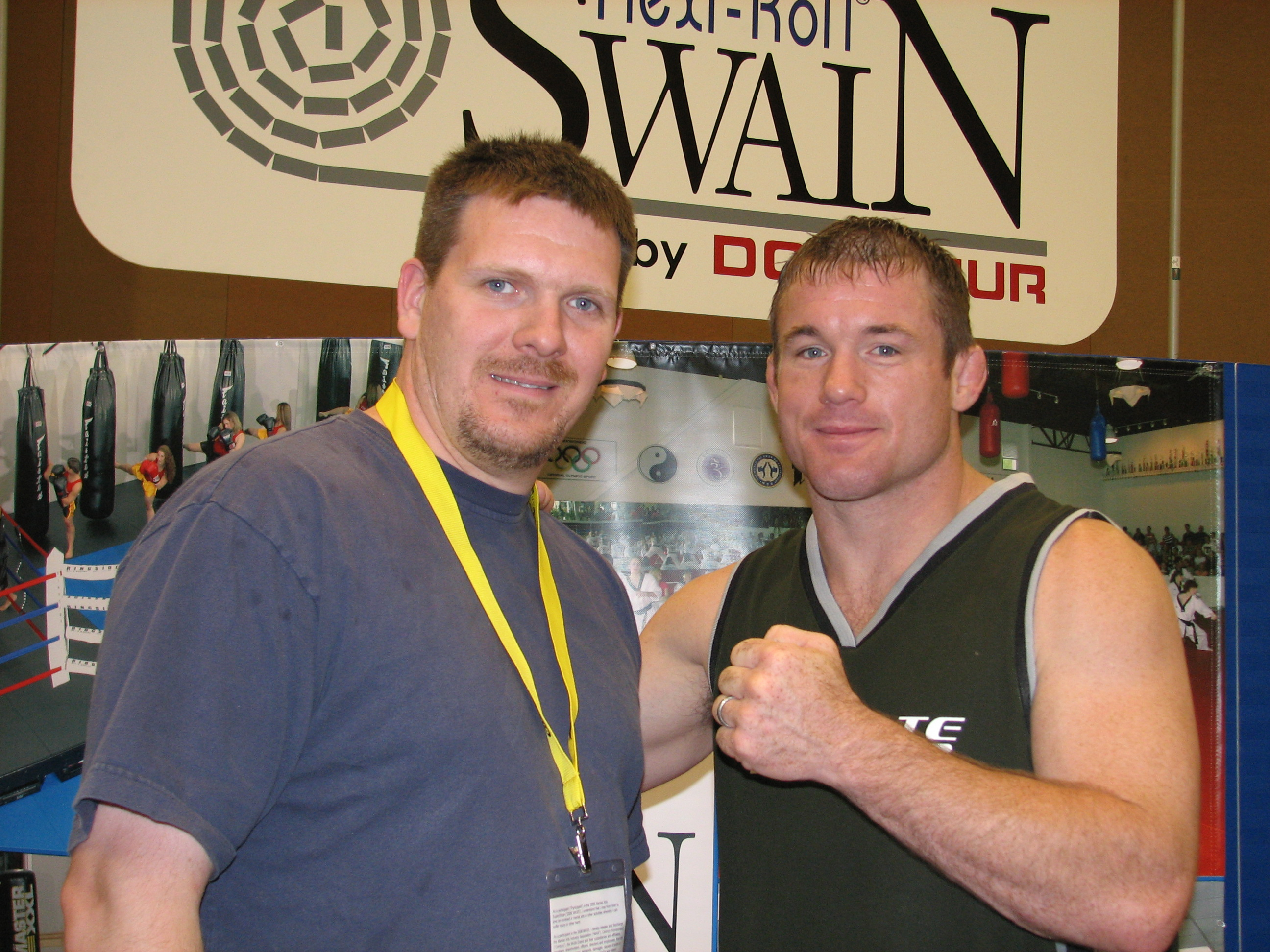 Rob and Matt Hughes