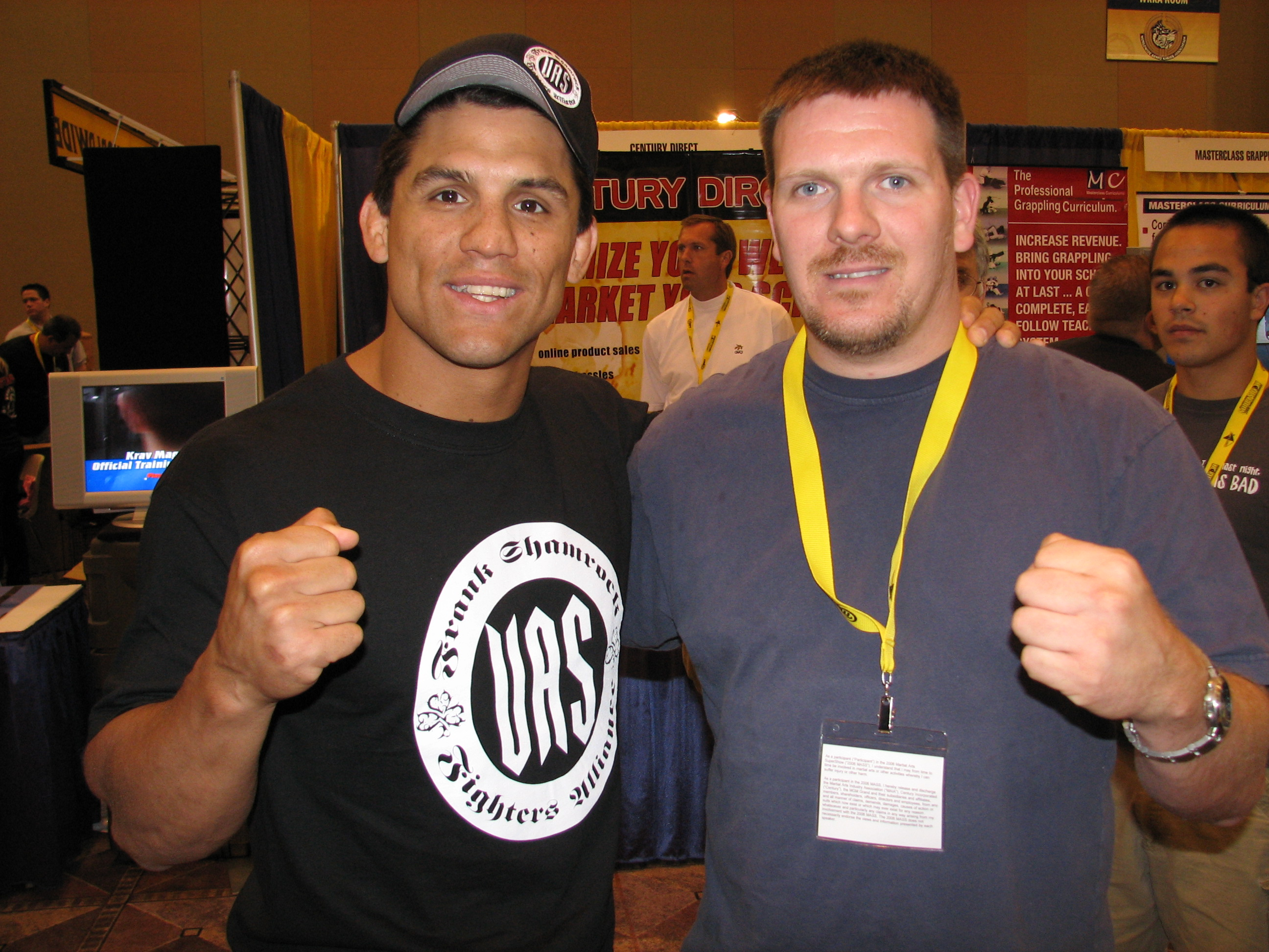 Rob and Frank Shamrock