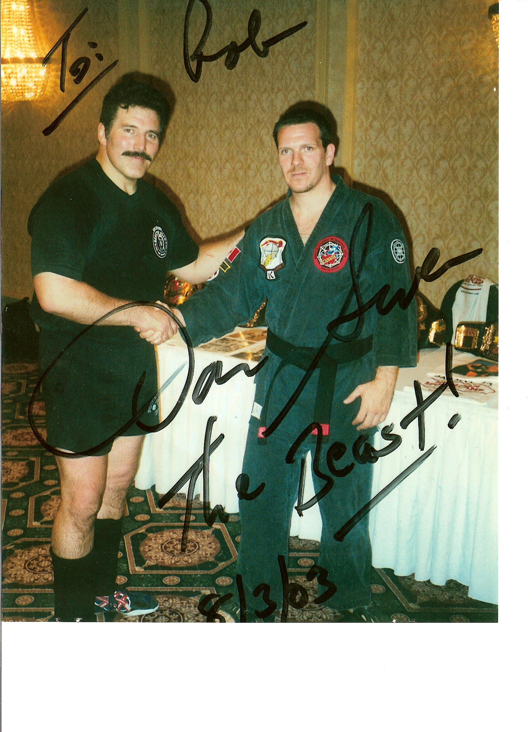 Rob and Dan Severn