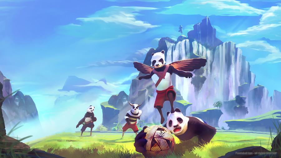 Pandaball Cover