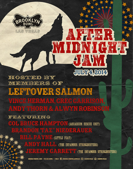 After Midnight Jam poster