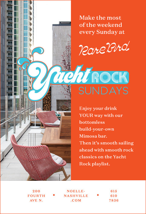 Rare Bird - Yacht Rock Sundays