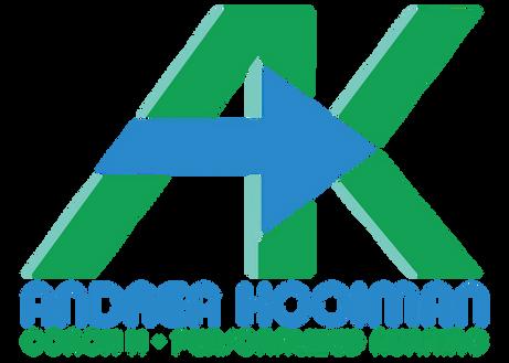 AK • Andrea Kooiman - logo