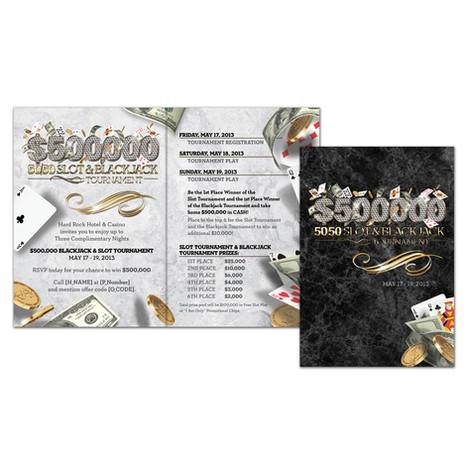 $50,000 Slot & Blackjack Tournament