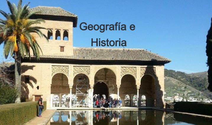 Especialidad Geografía e Historia
