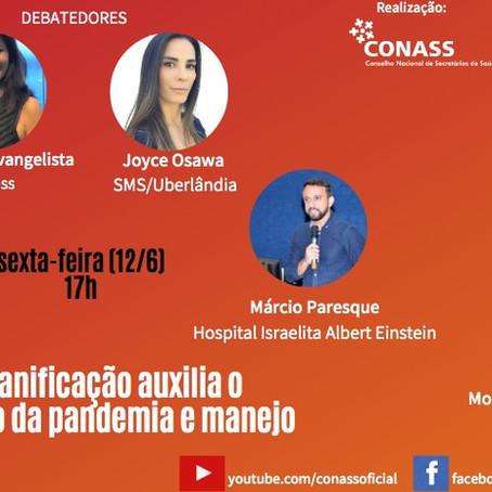 Missão Sal da Terra convidada para live promovida pelo CONASS