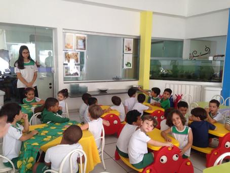 Projeto Alimentação Saudável no CE Sergio Henrique Martinelli