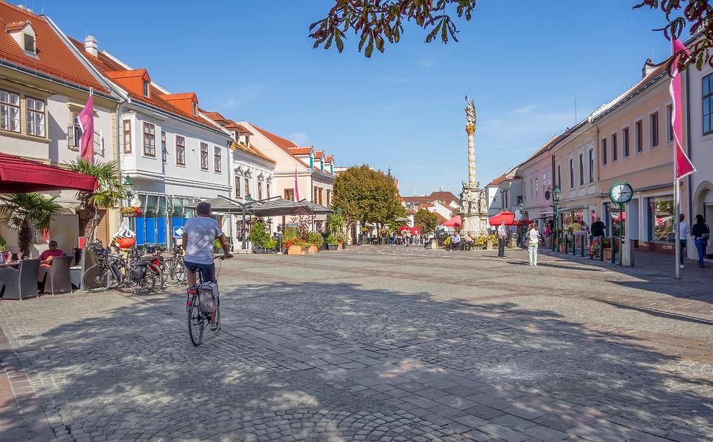 Fußgängerzone in Eisenstadt