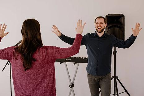 Bühnencoaching Gesangsunterricht Präsentation Performance