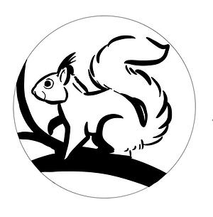 Badge Eichhörnchen Songanzahl Badge