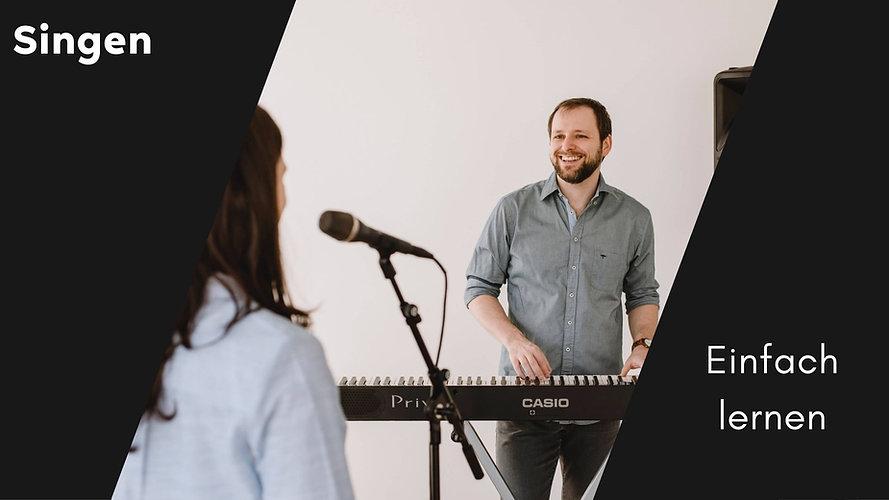 Mit Gesangsunterricht online einfach singen lernen