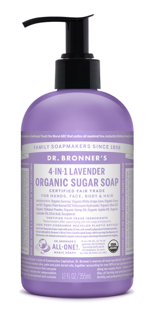 Organic Lavender Sugar Soap