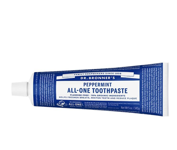 Organic Peppermint All-One Toothpaste