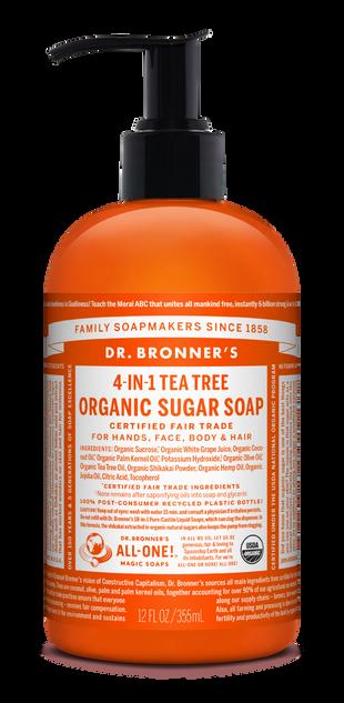Organic Tea Tree Sugar Soap