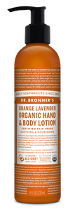 Organic Orange Lavender Lotion (8 oz)