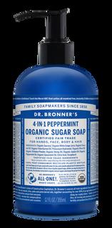 Organic Peppermint Sugar Soap