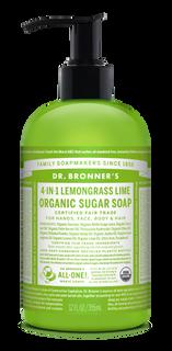 Organic  Lemongrass Lime Sugar Soap