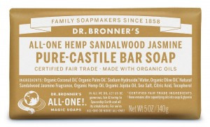 Sandalwood Jasmine Bar Soap