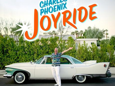 """""""To all of us who love classic and concept cars, you are a hero for sharing them!""""  - Charles Phoenix -"""