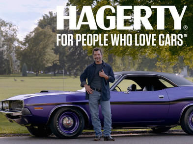 """""""Never stop driving, Nick!""""  - Hagerty -"""