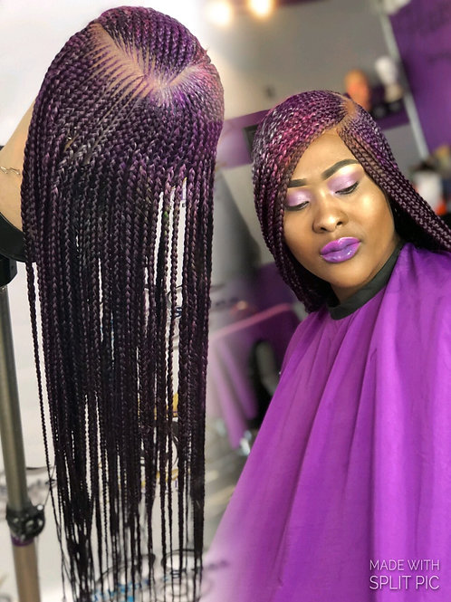 Full lace wigs with tribal braids