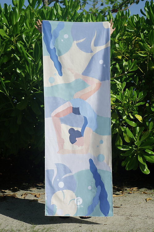 Upside Down Multi-purpose Towel