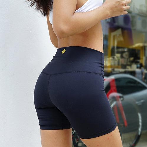 The Basic Soft Midi Biker Shorts