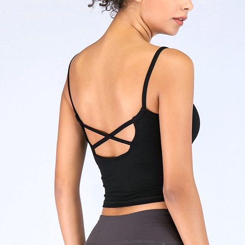 Criss Cross Bra Top