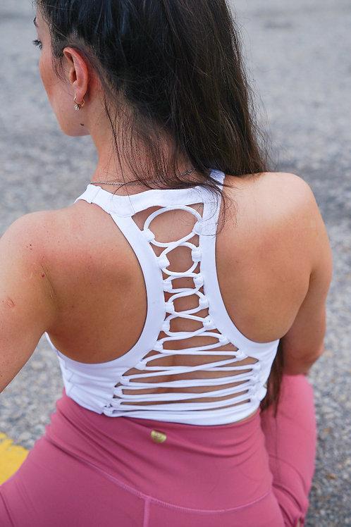 Sophia Knotty Open Back Bra