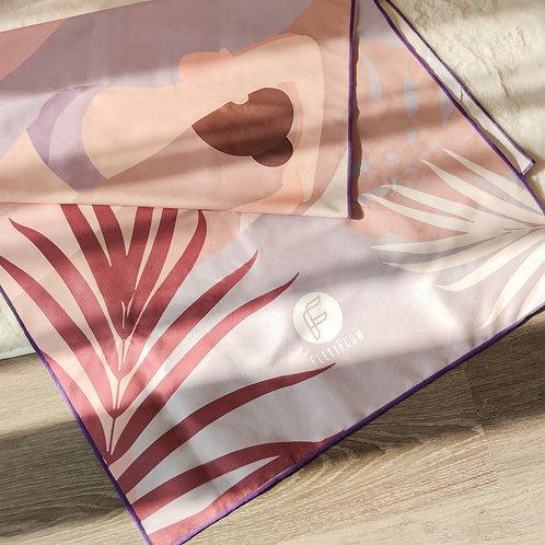 Mauve Bloom Multi-Purpose Towel