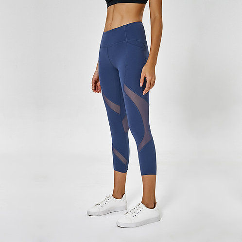 The Double Aarows Capri Leggings