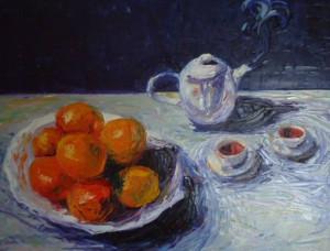 Recording Jaxon Arundell, Drinking Tea & Eating Oranges, A Reflection