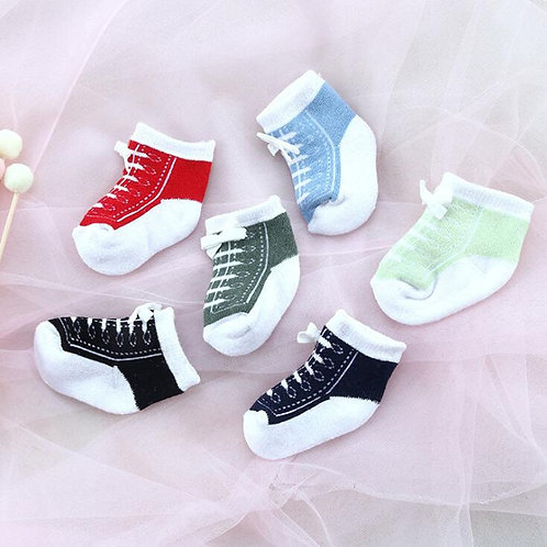 0-12 Months Baby Socks Sports Lace Baby Socks Cotton Baby Foot Socks