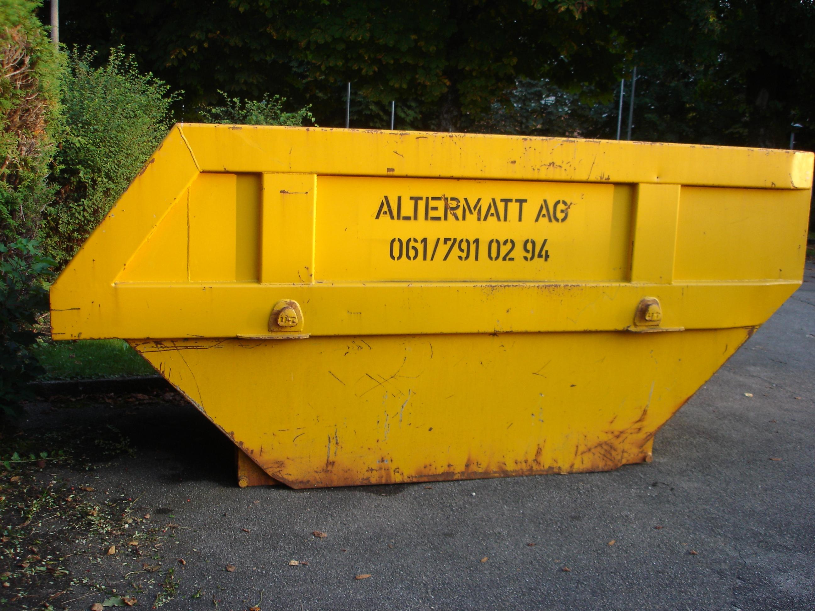 Allzweck-Mulde (6 m³)