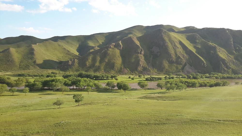 Mongolian scenery