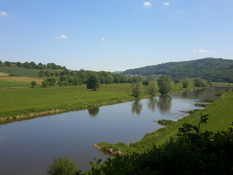 Werra and Weser River cycle