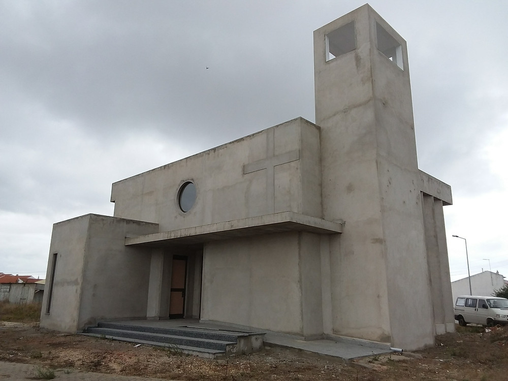 Partially developed church