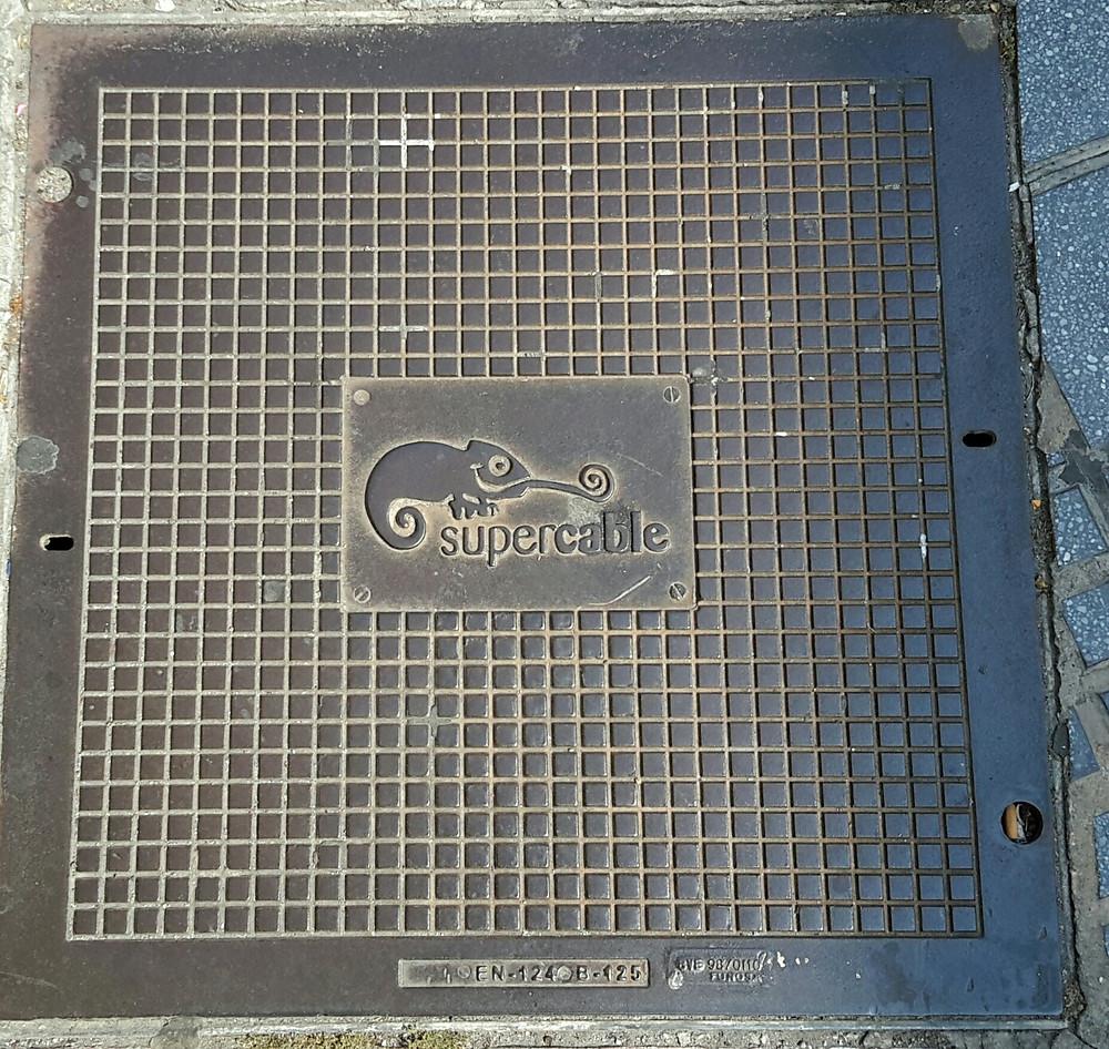 Malaga manhole cover