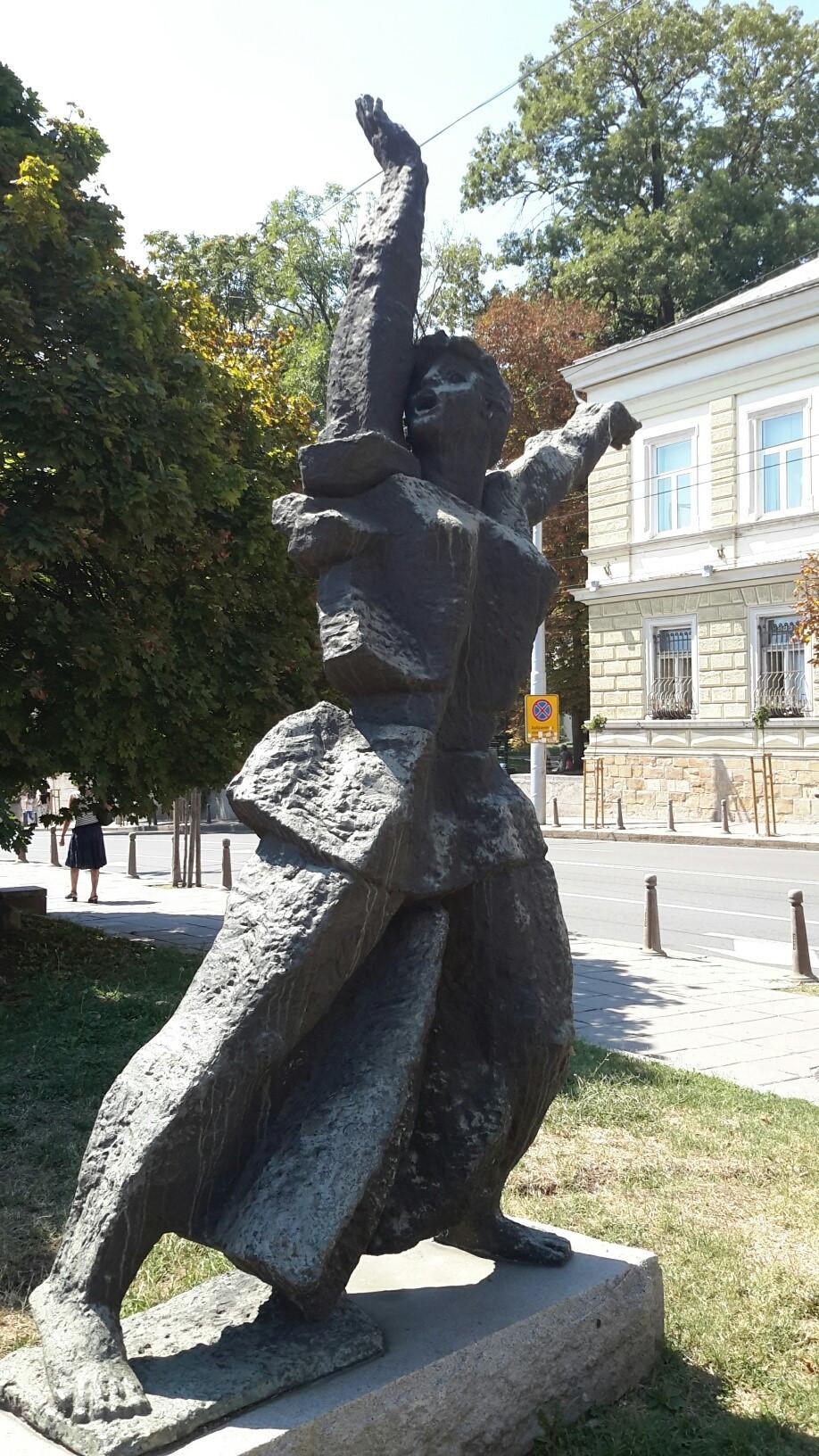 Soviet Era Sculpture