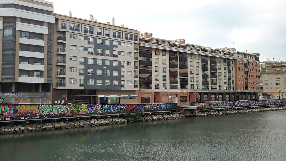 Urban blight, Malaga