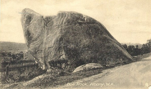 Dog Rock, Albany