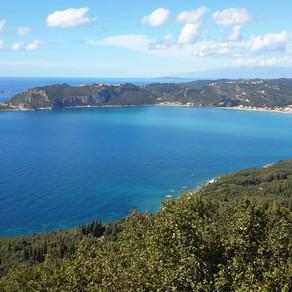 The Corfu trail