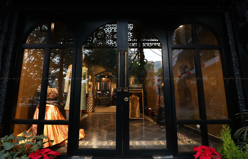 luxury retail interior design