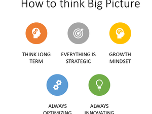 How to think Big Picture