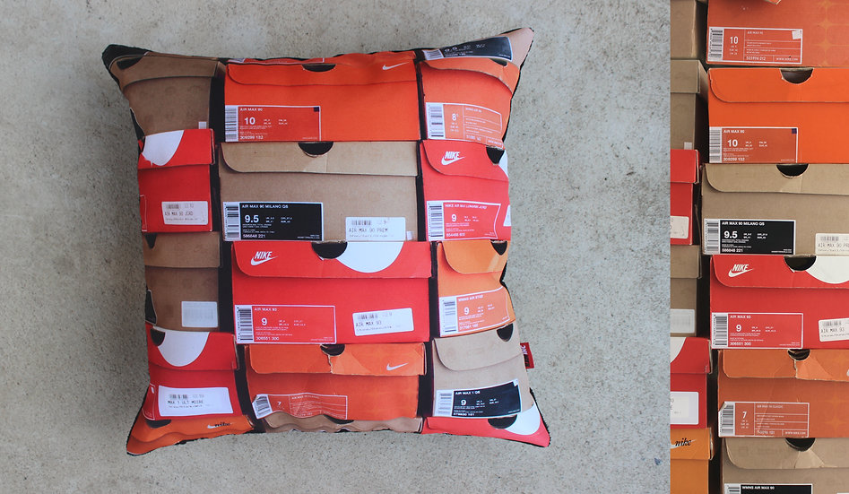 Raw Inc / Max Box Stack 45x45cm cushion
