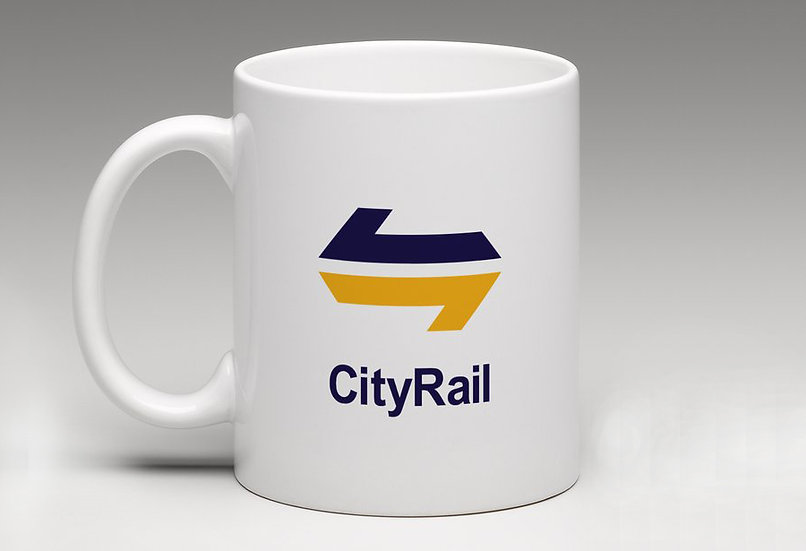 Raw / Classic NSW Railway City Rail Mug